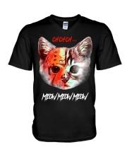 Meow Meow Meow V-Neck T-Shirt thumbnail
