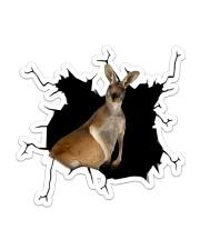 Kangrarooooo Sticker - Single (Vertical) front