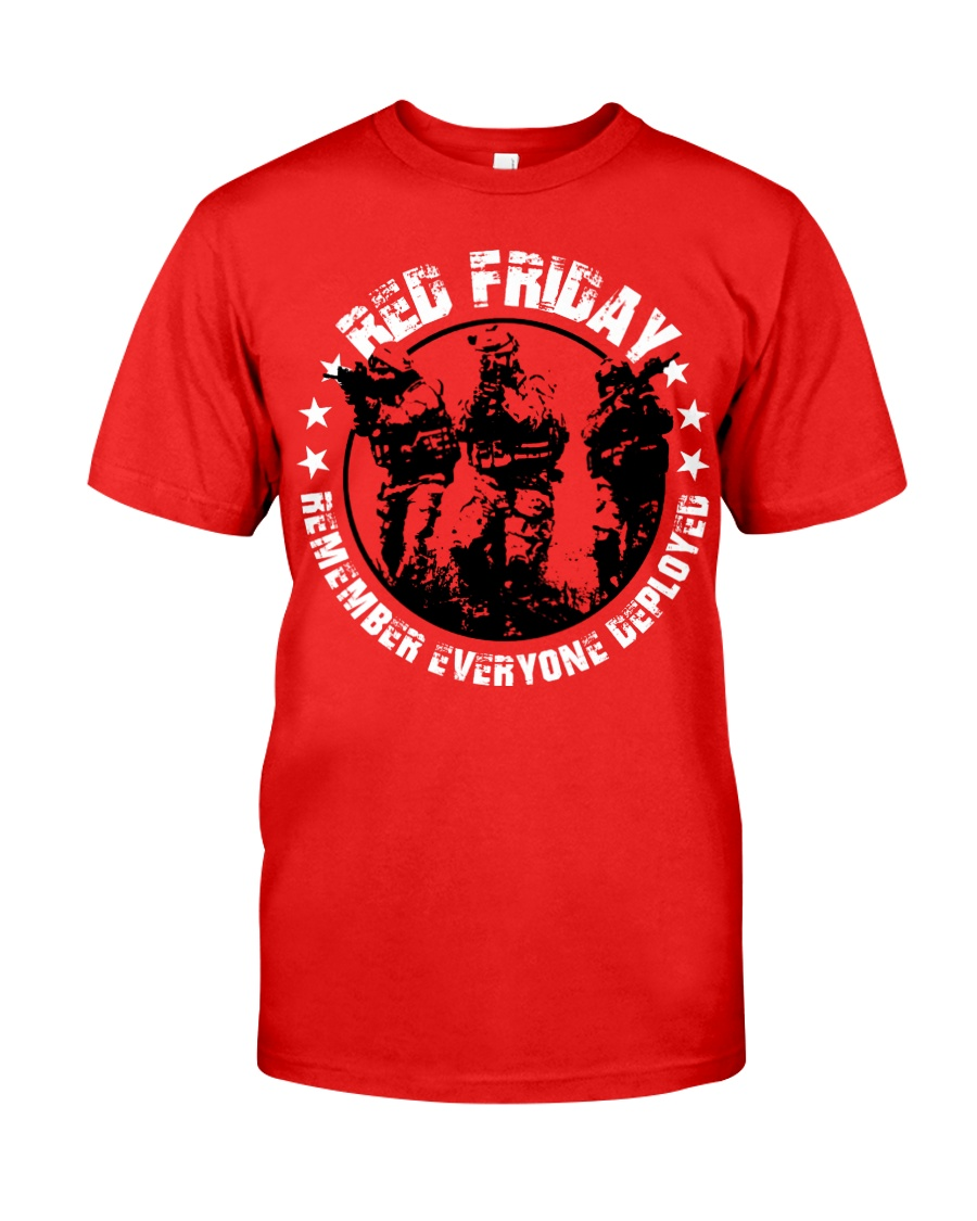 Wear Red On Friday  Classic T-Shirt