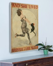 216Canvas -  And She Lived Happily Ever After 20x30 Gallery Wrapped Canvas Prints aos-canvas-pgw-20x30-lifestyle-front-01