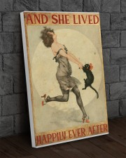 216Canvas -  And She Lived Happily Ever After 20x30 Gallery Wrapped Canvas Prints aos-canvas-pgw-20x30-lifestyle-front-11