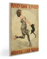 216Canvas -  And She Lived Happily Ever After 20x30 Gallery Wrapped Canvas Prints front