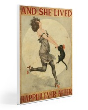 216Canvas -  And She Lived Happily Ever After Gallery Wrapped Canvas Prints tile