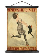 216Canvas -  And She Lived Happily Ever After 12x16 Black Hanging Canvas thumbnail