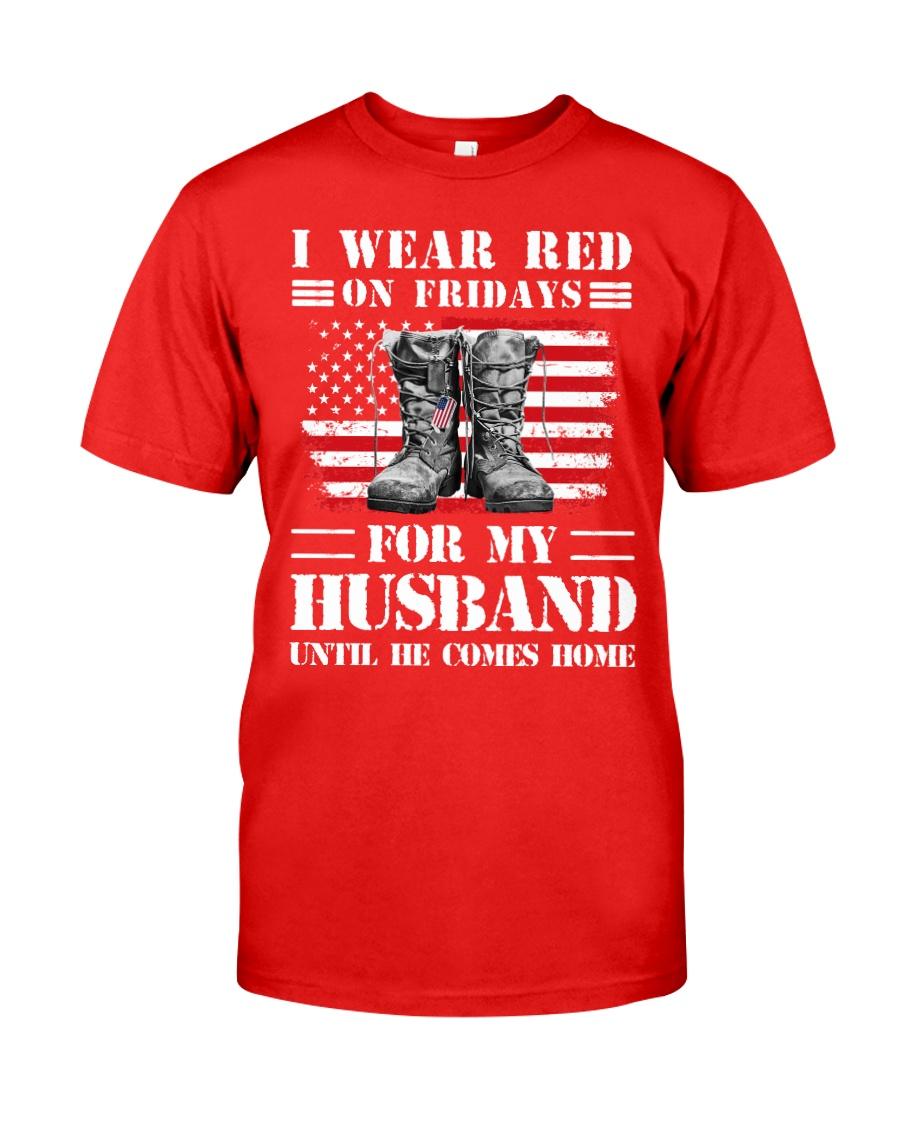 77veteran red husband Classic T-Shirt