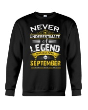 September  Legend Crewneck Sweatshirt thumbnail