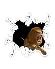 lion Sticker - Single (Vertical) front