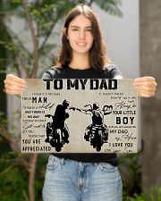 To my dad 17x11 Poster poster-landscape-17x11-lifestyle-19