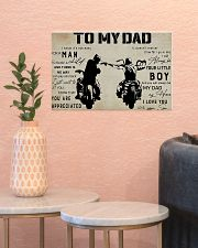 To my dad 17x11 Poster poster-landscape-17x11-lifestyle-21