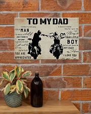 To my dad 17x11 Poster poster-landscape-17x11-lifestyle-23