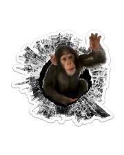 Gorilla Sticker - Single (Vertical) front