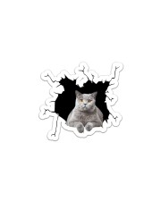 Cat Short-haired Sticker - Single (Vertical) front