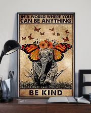 IN A WORLD WHERE YOU CAN BE ANYTHING BE FIND 11x17 Poster lifestyle-poster-2