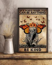 IN A WORLD WHERE YOU CAN BE ANYTHING BE FIND 11x17 Poster lifestyle-poster-3