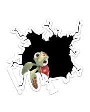 Turtle Crack Sticker - Single (Vertical) front