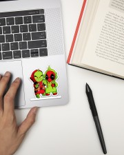 The Grinch Cartoon Sticker Sticker - Single (Vertical) aos-sticker-single-vertical-lifestyle-front-12