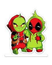 The Grinch Cartoon Sticker Sticker - Single (Vertical) front