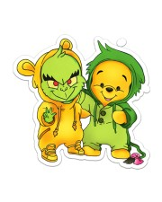 friend grinch Sticker - Single (Vertical) front
