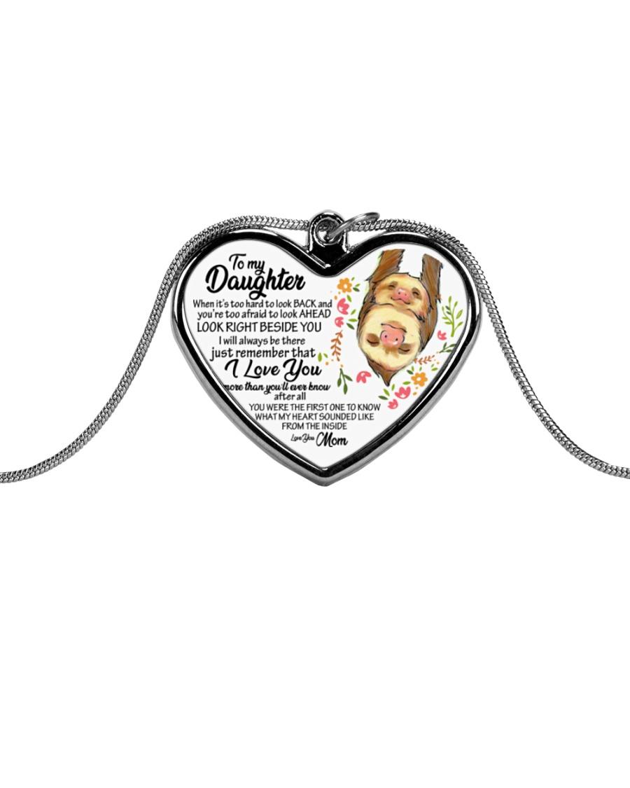 gfcfgc bxcb Metallic Heart Necklace