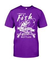 Fish And Beer Classic T-Shirt front