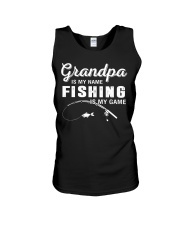 Is My Game Unisex Tank front