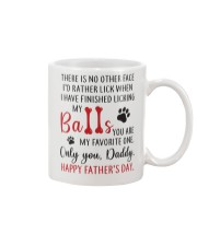 My Favorite One Mug front
