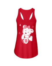 bears loving  Ladies Flowy Tank front
