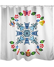 Christmas and Cats Bundle  Shower Curtain thumbnail