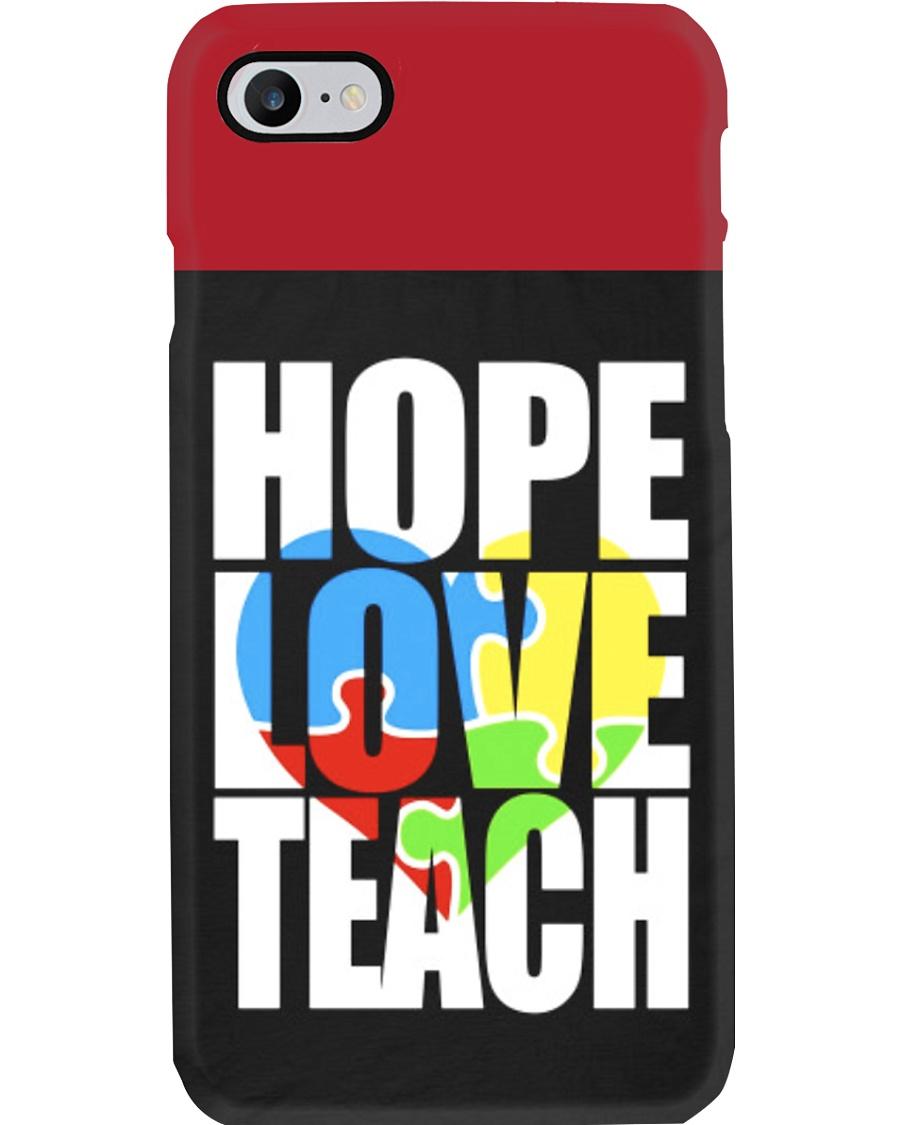 HOPE LOVE TEACH PHONE CASE Phone Case