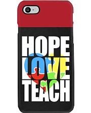 HOPE LOVE TEACH PHONE CASE Phone Case i-phone-7-case