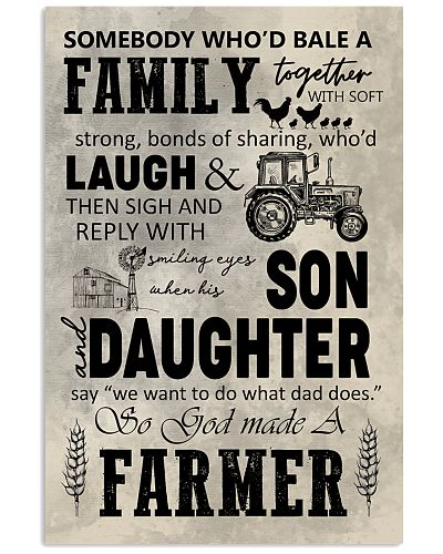 FARMER POSTER TO DAD N037