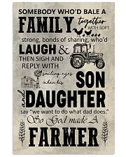 FARMER POSTER TO DAD N037 11x17 Poster front