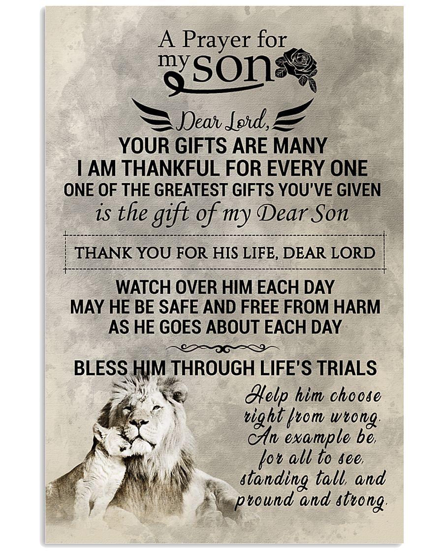 LION 16x24 Poster