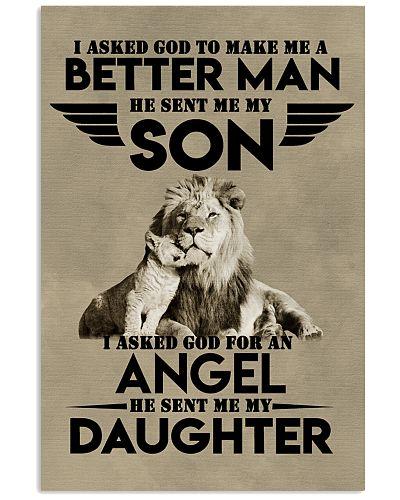 LION - I ASKED GOD TO MAKE ME AN BETTER MAN