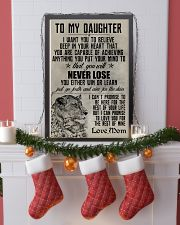 LION - TO MY DAUGHTER 16x24 Poster lifestyle-holiday-poster-4