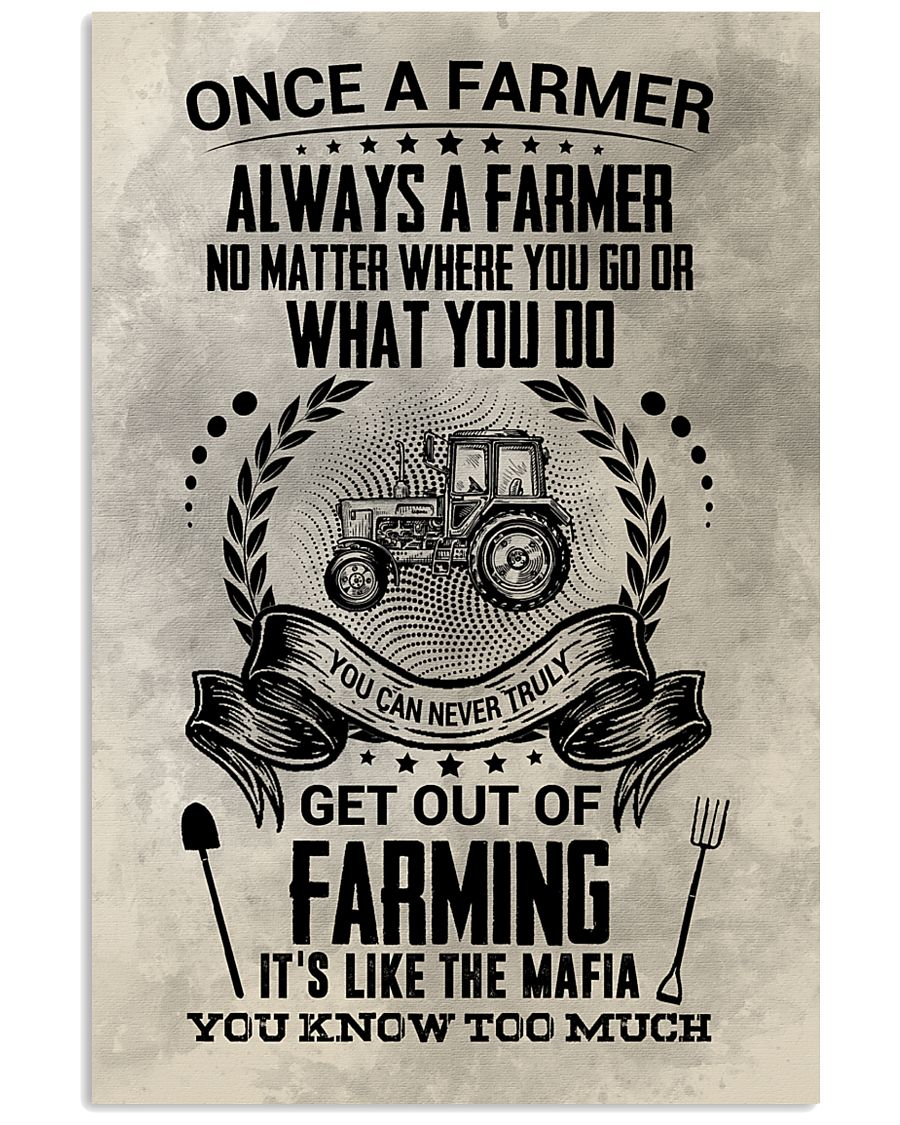 FUNNY FARMING 16x24 Poster