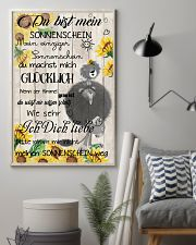 lion poster - You are my sunshine - german vs 11x17 Poster lifestyle-poster-1