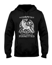 LION - NOTHING IS TRUE Hooded Sweatshirt thumbnail