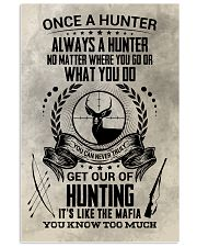 FUNNY HUNTING 16x24 Poster front