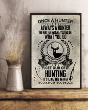 FUNNY HUNTING 16x24 Poster lifestyle-poster-3