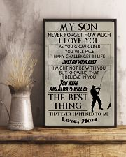 FISHING POSTER - TO MY SON 11x17 Poster lifestyle-poster-3