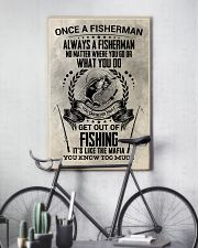 FUNNY FISHING 16x24 Poster lifestyle-poster-7