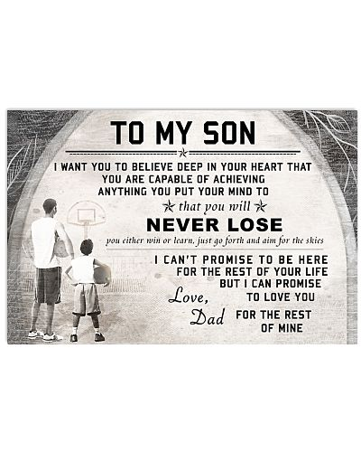 BASKETBALL - TO MY HUSBAND