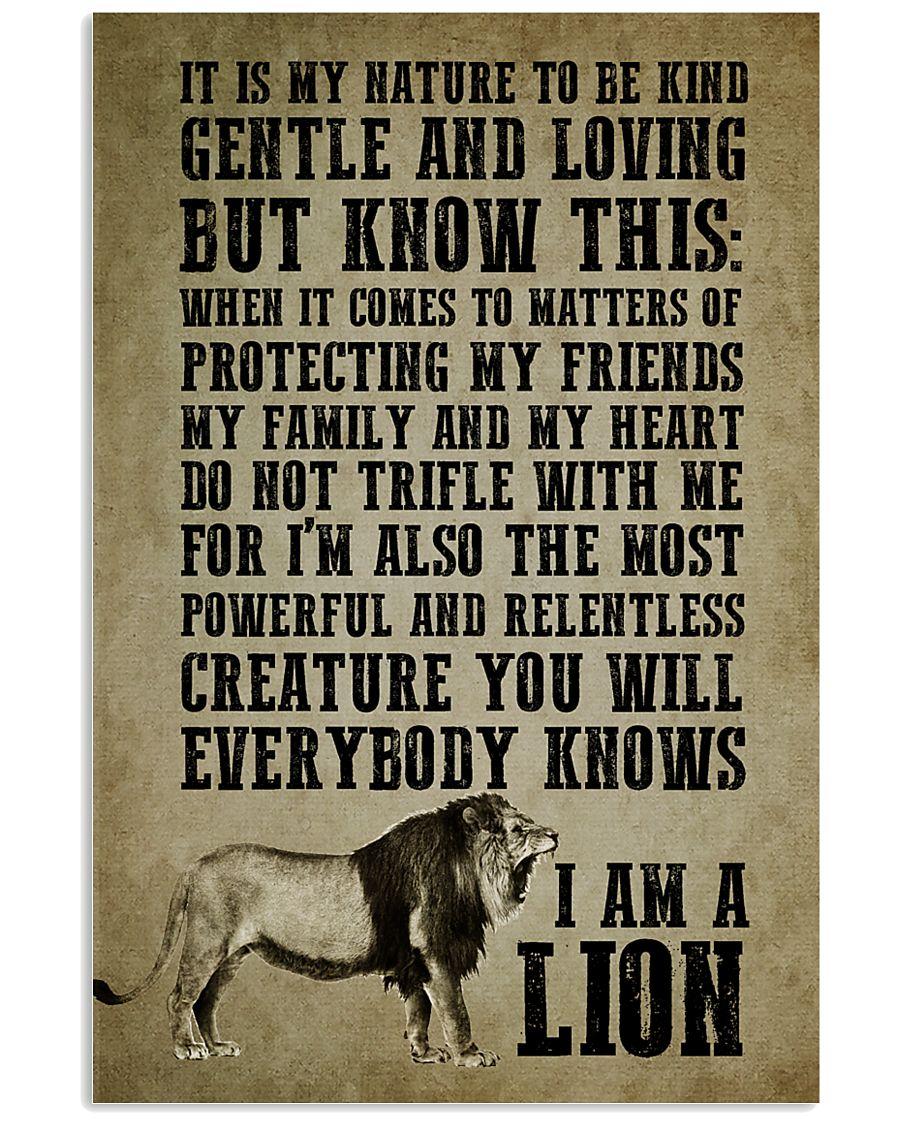 LION - I AM A LION 16x24 Poster