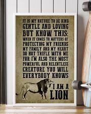 LION - I AM A LION 16x24 Poster lifestyle-poster-4