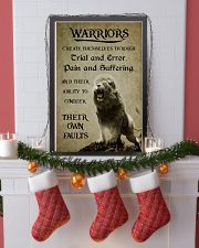 LION - WARRIOR CREAT THEMSELVES 16x24 Poster lifestyle-holiday-poster-4