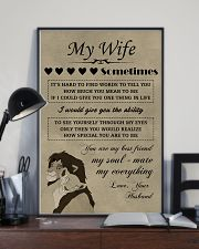 LION - My Wife  16x24 Poster lifestyle-poster-2