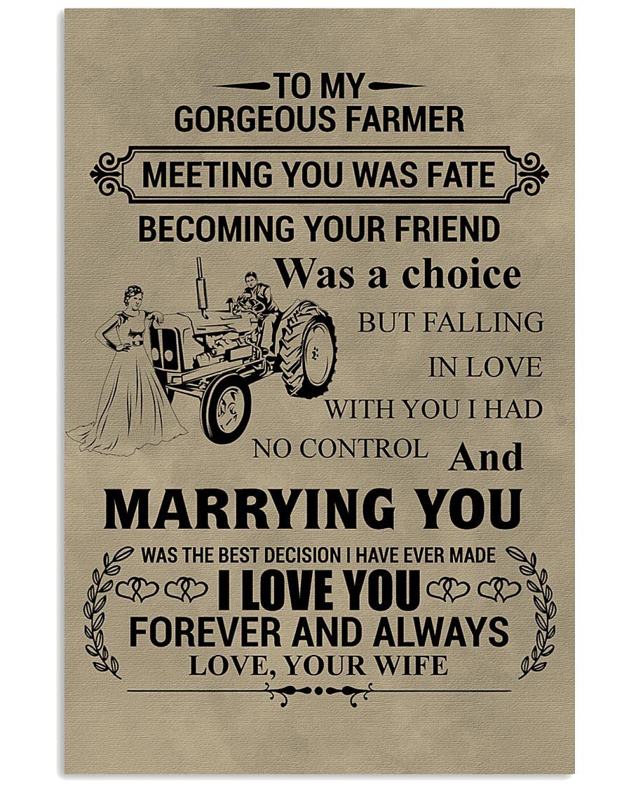 FAMILY FARMER POSTER 11x17 Poster