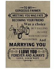 FAMILY FARMER POSTER 11x17 Poster front