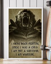 LION - I HAVE BEEN FIGHTING 16x24 Poster lifestyle-poster-4